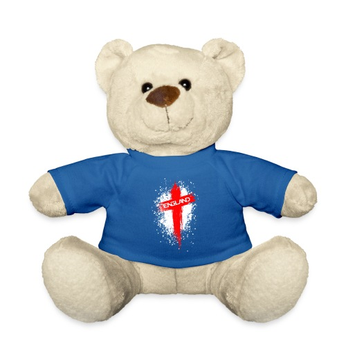 England Painted-Red - Teddy Bear