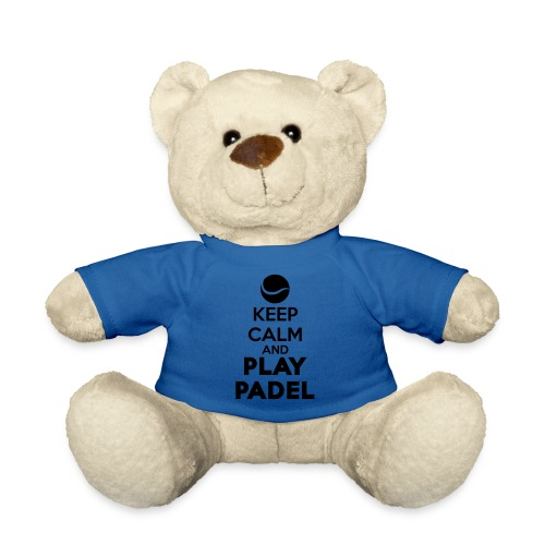 Keep Calm and Play Padel - Osito de peluche