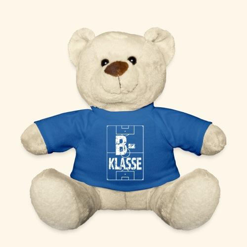 B-Klasse im Fußballfeld - Teddy