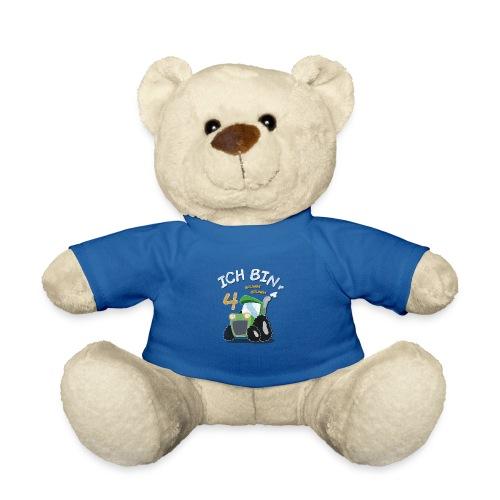 4. Geburtstags Traktor Junge Shirt Ich bin 4 Jahre - Teddy
