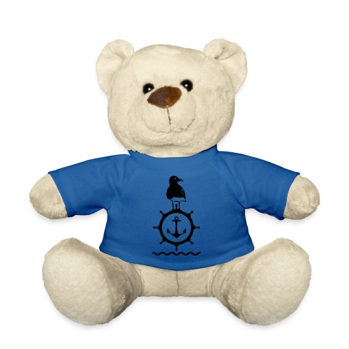 Möwe Steuerrad Anker Wellen Küste Meer Hafen - Teddy