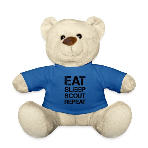 EAT SLEEP SCOUT REPEAT Kreide - Farbe frei wählbar - Teddy