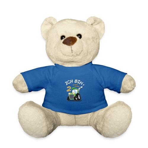 Kinder 2. Geburtstags Traktor Junge Shirt Ich bin - Teddy