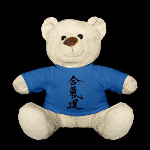 aikido_wektor - Miś w koszulce