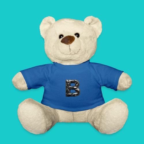 paper-melt-font-letter-B-1- - Teddy Bear