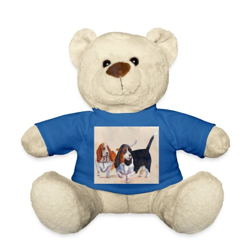 Basset hound_double-trot - Teddybjørn