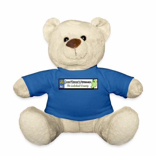 FERMANAGH, NORTHERN IRELAND licence plate tags eu - Teddy Bear
