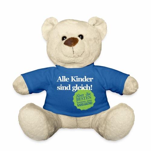 Kinder sind gleich, außer Kahlgründer - WEIß/GRÜN - Teddy