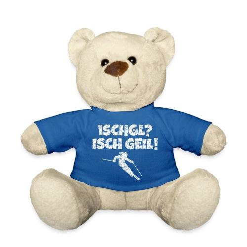 Ischgl Isch Geil Skifahrerin (Weiß) Apres-Ski - Teddy