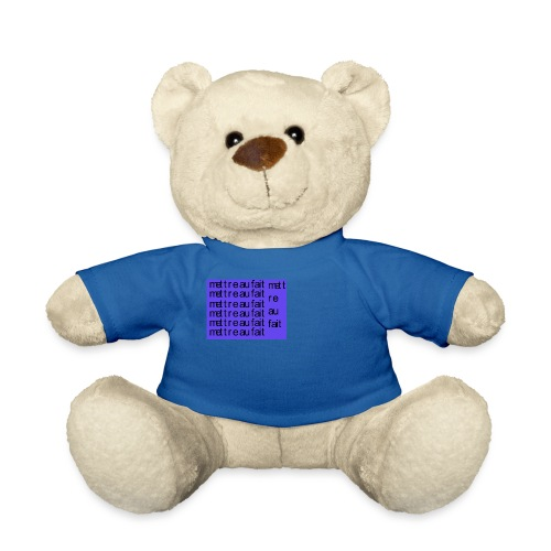mettre au fait - Teddybjørn