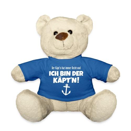 Der Käpt'n hat immer Recht Kapitän Segel - Teddy