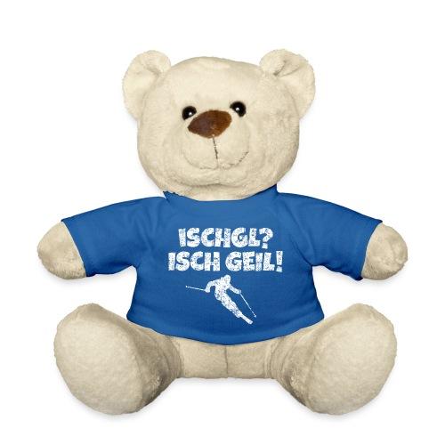 Ischgl Ischgeil Skifahrer (Weiß) Winter Apres-Ski - Teddy