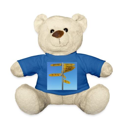 Wegweiser Cape Reinga Neuseeland Südpol Äquator - Teddy