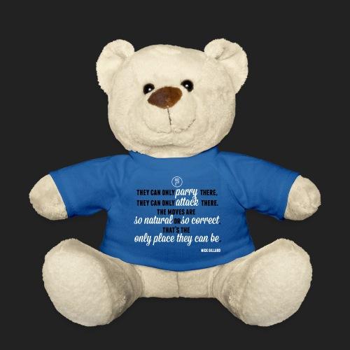 Nick Gillard Zitat - SP Credo - Teddy