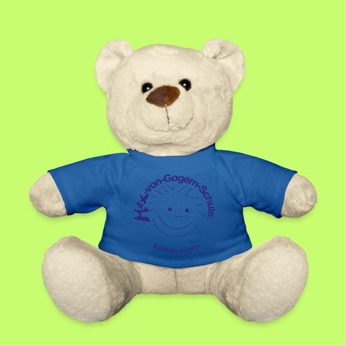 Mäxchen Logo blau - Teddy