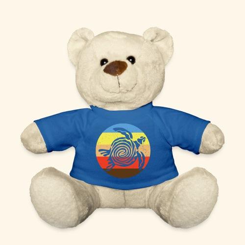 Barbudan Turtle Retro - Teddy Bear