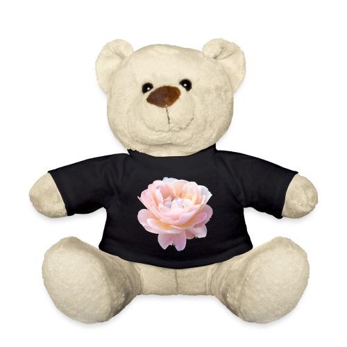 A pink flower - Teddy Bear