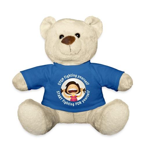 Amy's motto (white txt) - Teddy Bear