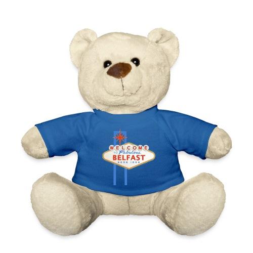 Belfast - Vegas sign - Teddy Bear