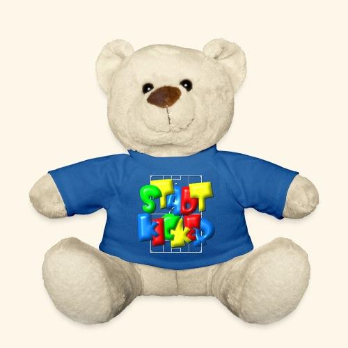 Stadtkicker im Fußballfeld - Balloon-Style - Teddy
