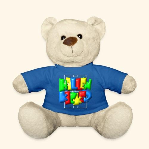 Hallenkicker im Fußballfeld - Balloon-Style - Teddy
