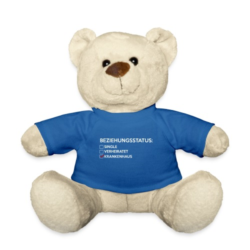 Beziehungsstatus - Krankenhaus - Teddy