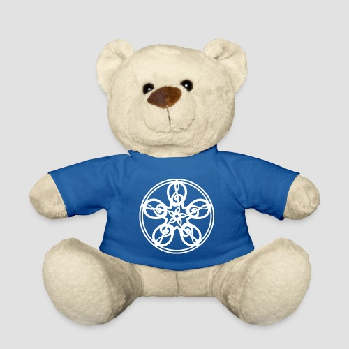 Treble Clef Mandala (white) - Teddy Bear
