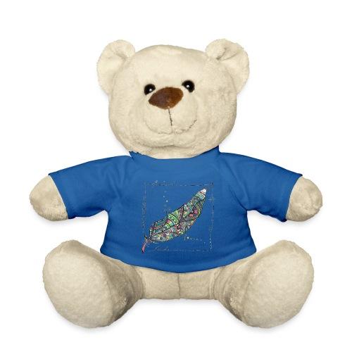 Feder bunt - Teddy