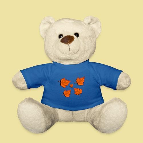 Herbstblätter - Teddy