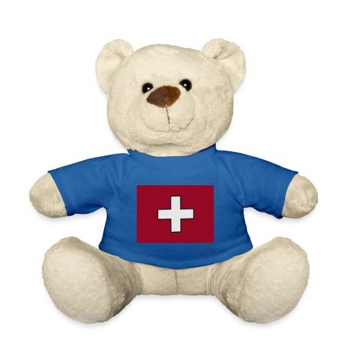 Swiss Flagge - Teddy