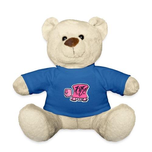 Tag turtle / Pink Schildkröte Logo - Teddy