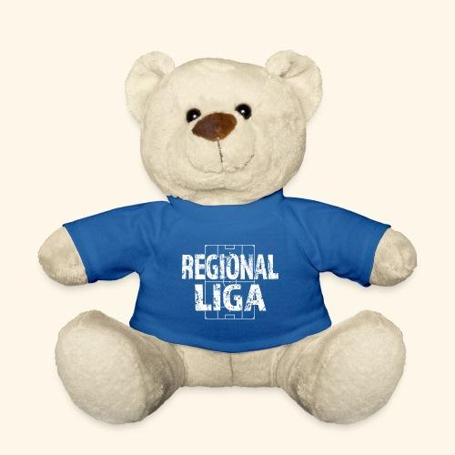 REGIONALLIGA im Fußballfeld - Teddy