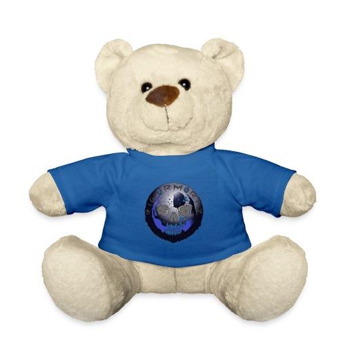 Rigormortiz Metallic Blue-Black Design - Teddy Bear