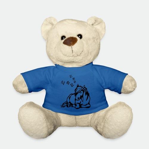ZZZ Schlafendes Pferd - Teddy Bear