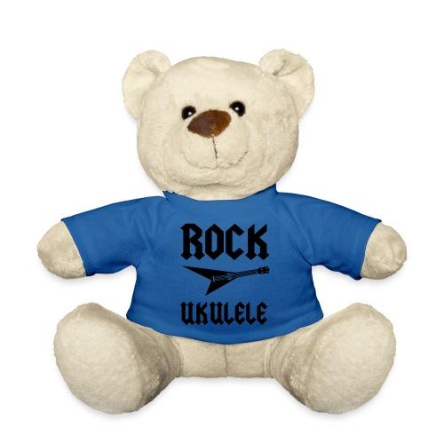 Rock Ukulele T-Shirt - Teddy Bear