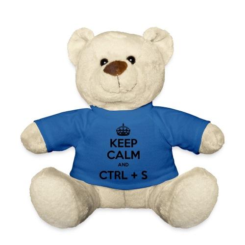 Keep Calm and CTRL+S - Nounours