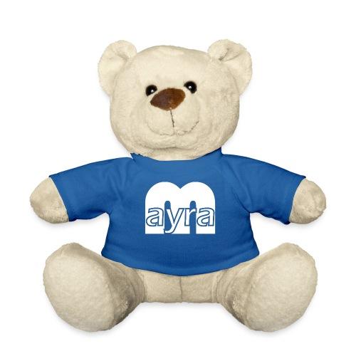 Mayra Logo 2 weiß - Teddy