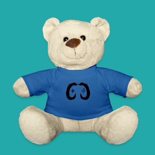 Crowd Control Controller Logo Black Large - Teddy Bear