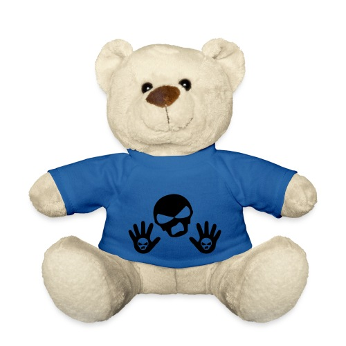 Scottish Button Saltire - Teddy Bear