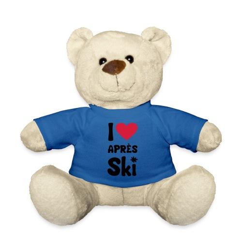 T-Shirt I love apres ski - Teddy