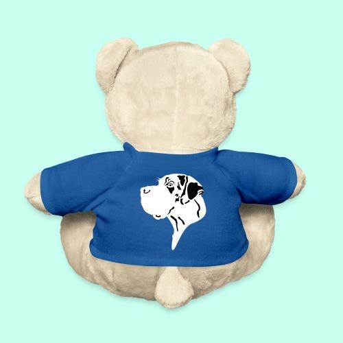 Doggenkopf gefleckt - Great Dane Head - Teddy
