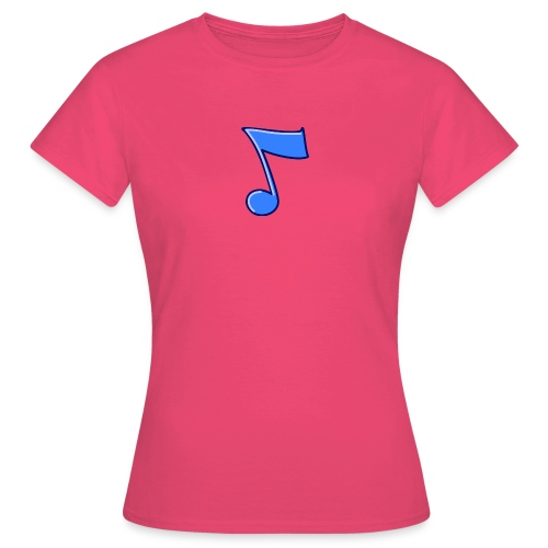 mbtwms_Musical_note - Vrouwen T-shirt
