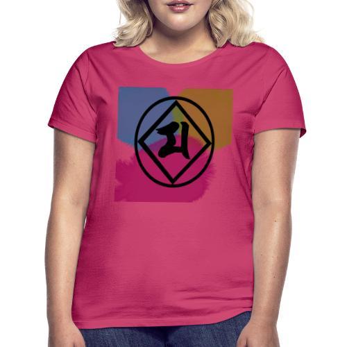 Logo Japones color - Camiseta mujer