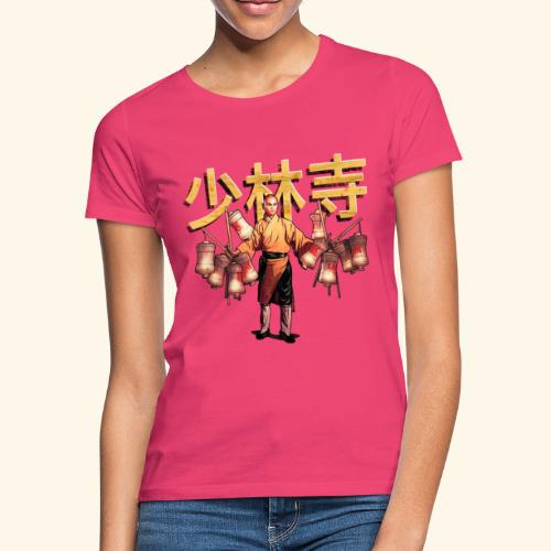 Shaolin Warrior Monk - Vrouwen T-shirt