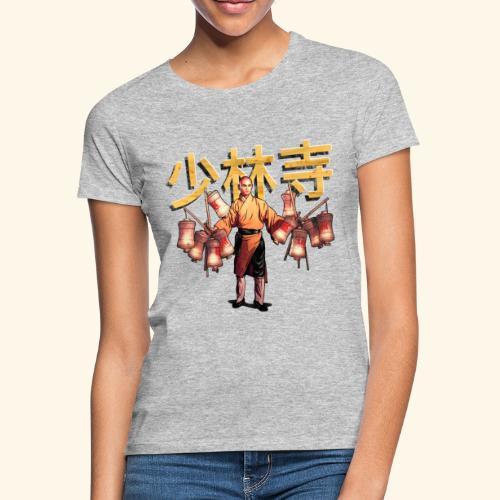 Shaolin Warrior Monk - Vrouwen T-shirt