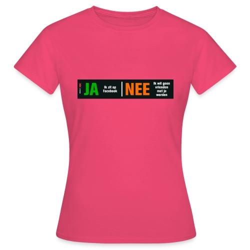 facebookvrienden - Vrouwen T-shirt