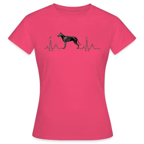 ECG met hond - Vrouwen T-shirt