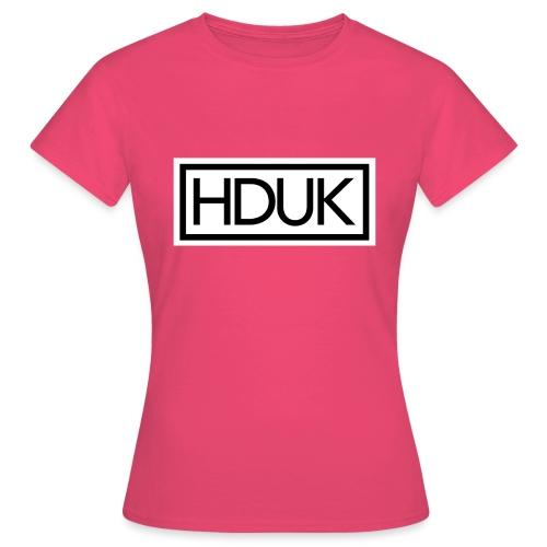 HDUK Black Logo with Border - Women's T-Shirt