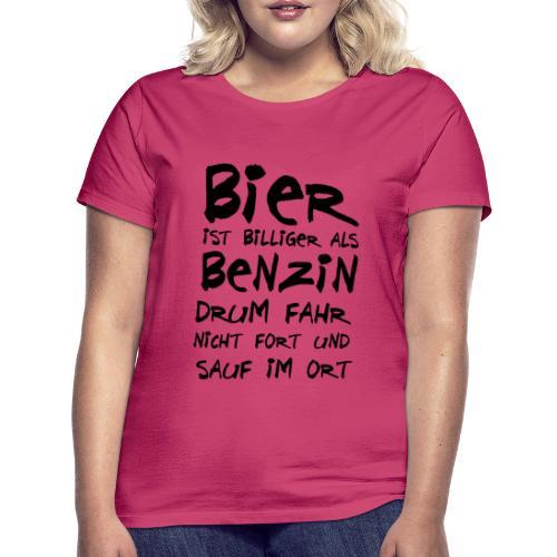 Bier ist Billiger - Frauen T-Shirt