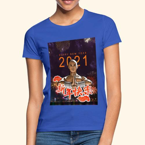 Gordon Liu as San Te - Warrior MonK - New Year - Vrouwen T-shirt